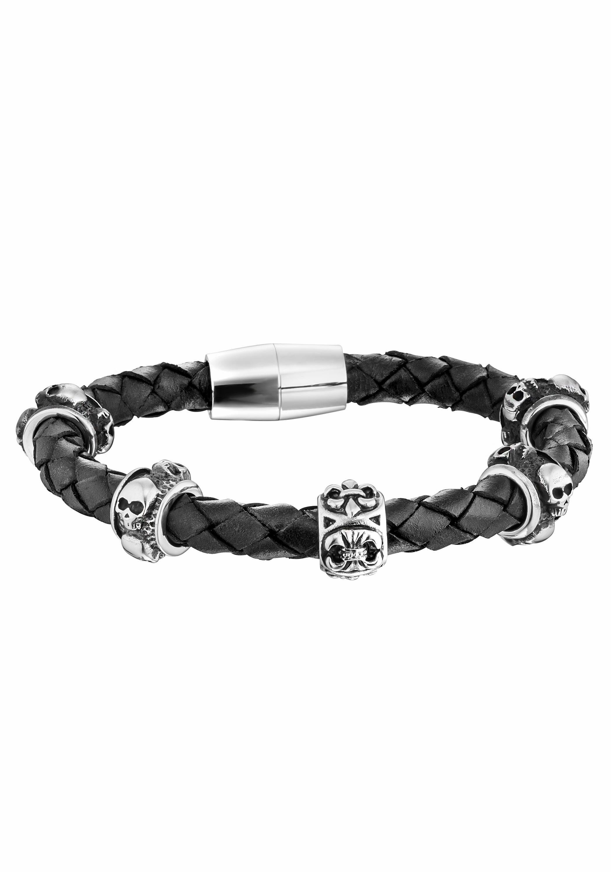 Police Armband »RELIC, Totenkopf, PJ25884BLB.01-L«