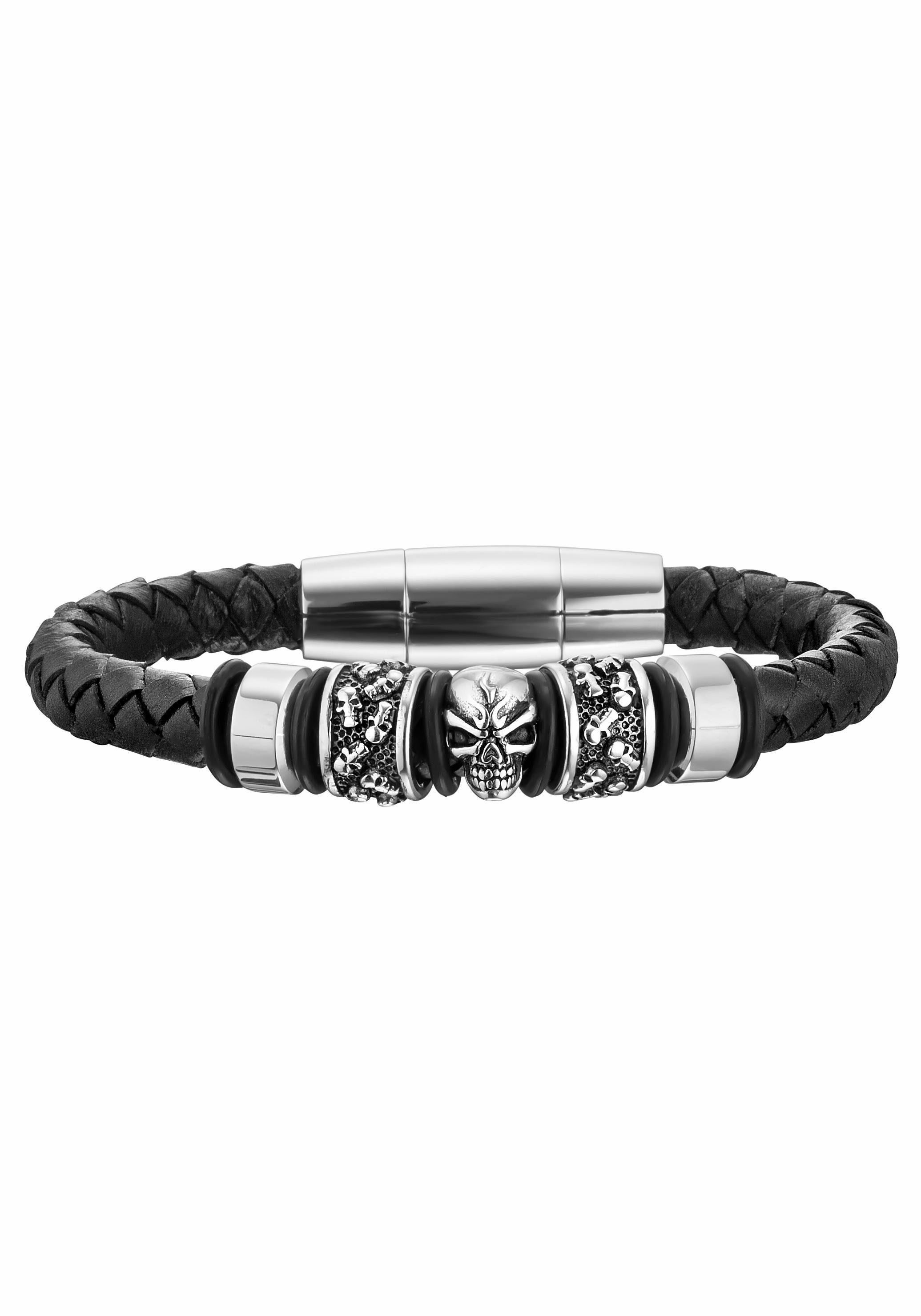 Police Armband »SOUL, Totenkopf, PJ25887BLB.01-L«