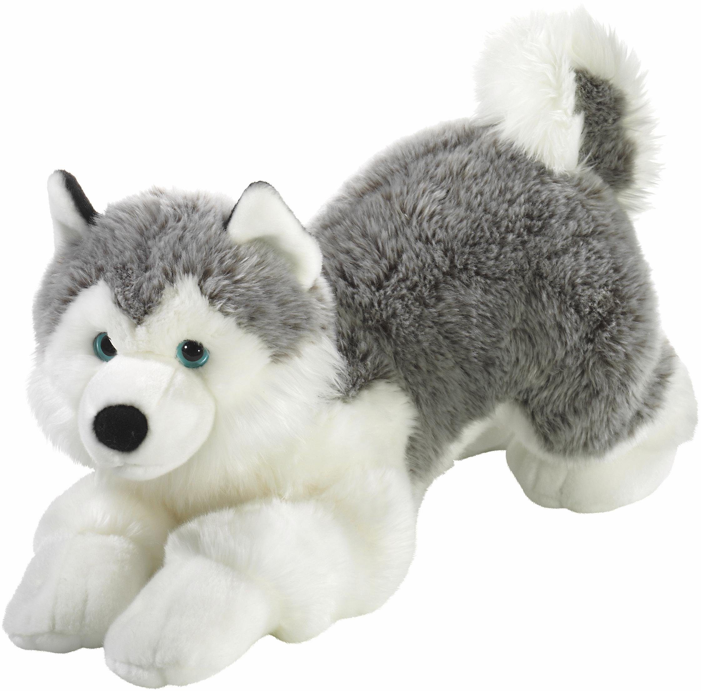 Heunec Plüschtier Hund, »Mi Classico, Husky liegend, 60 cm«