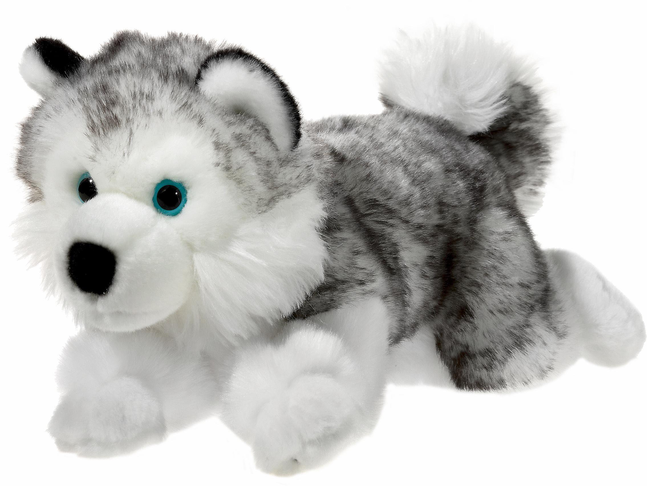 Heunec Plüschtier Hund, »Mi Classico, Husky liegend, 32 cm«