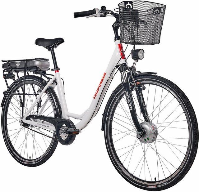 Telefunken E-Bike »RC657 Multitalent«, 7 Gang Shimano Nexus Schaltwerk, Nabenschaltung,