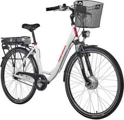 Telefunken E-Bike »RC657 Multitalent«, Shimano Nexus Schaltwerk, Nabenschaltung, Frontmotor 250 W
