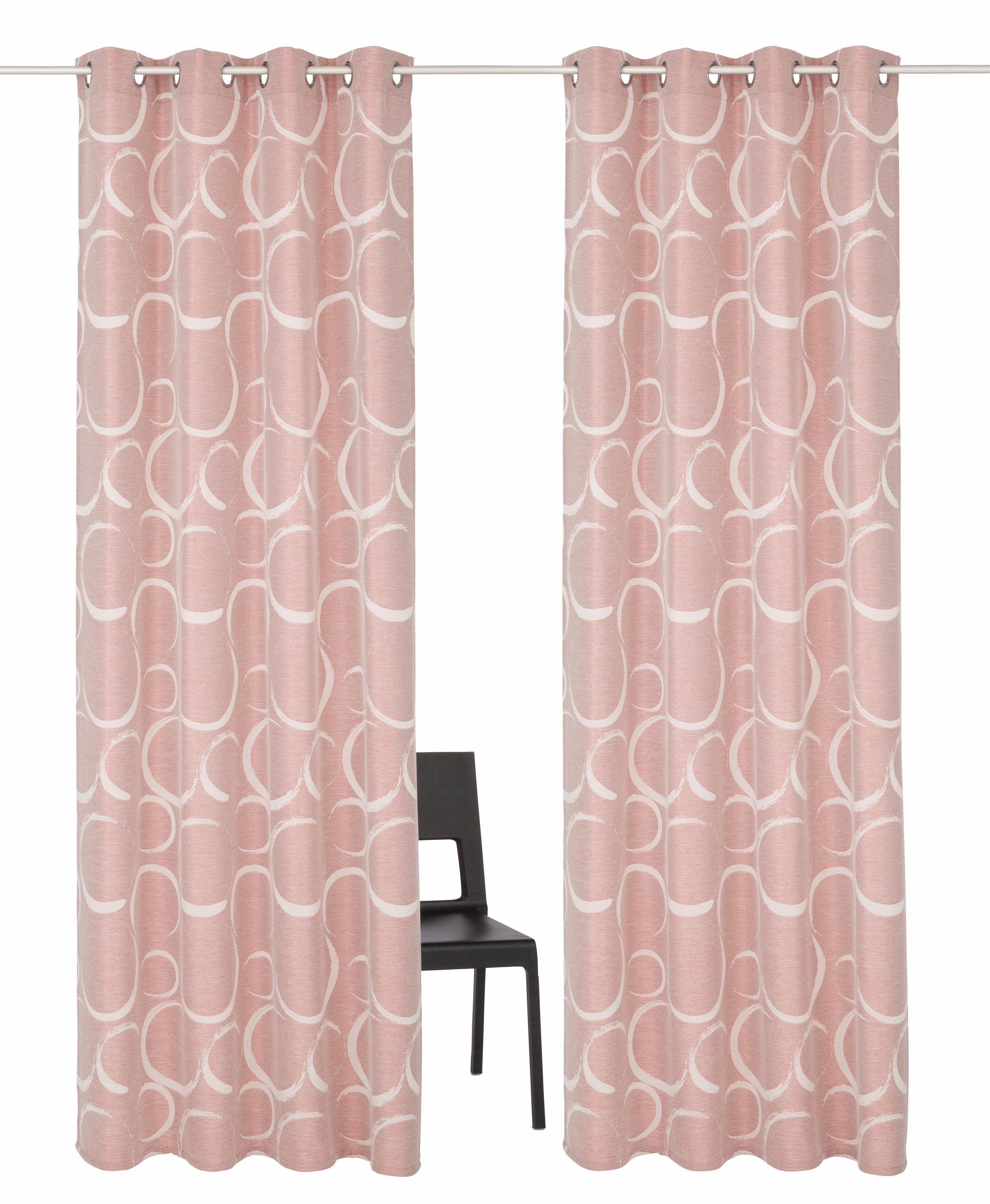 Vorhang »Kade«, my home Selection, Ösen (2 Stück)