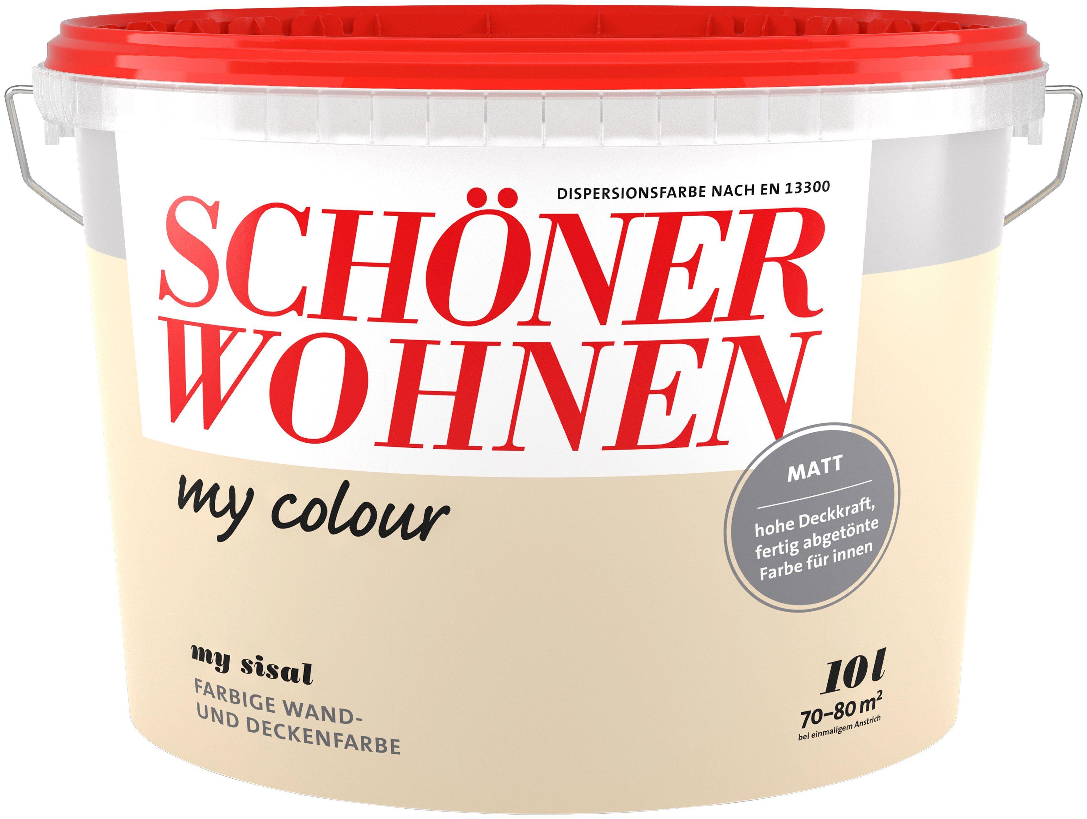 Schöner Wohnen Farbe Innenfarbe »my colour«, my sisal