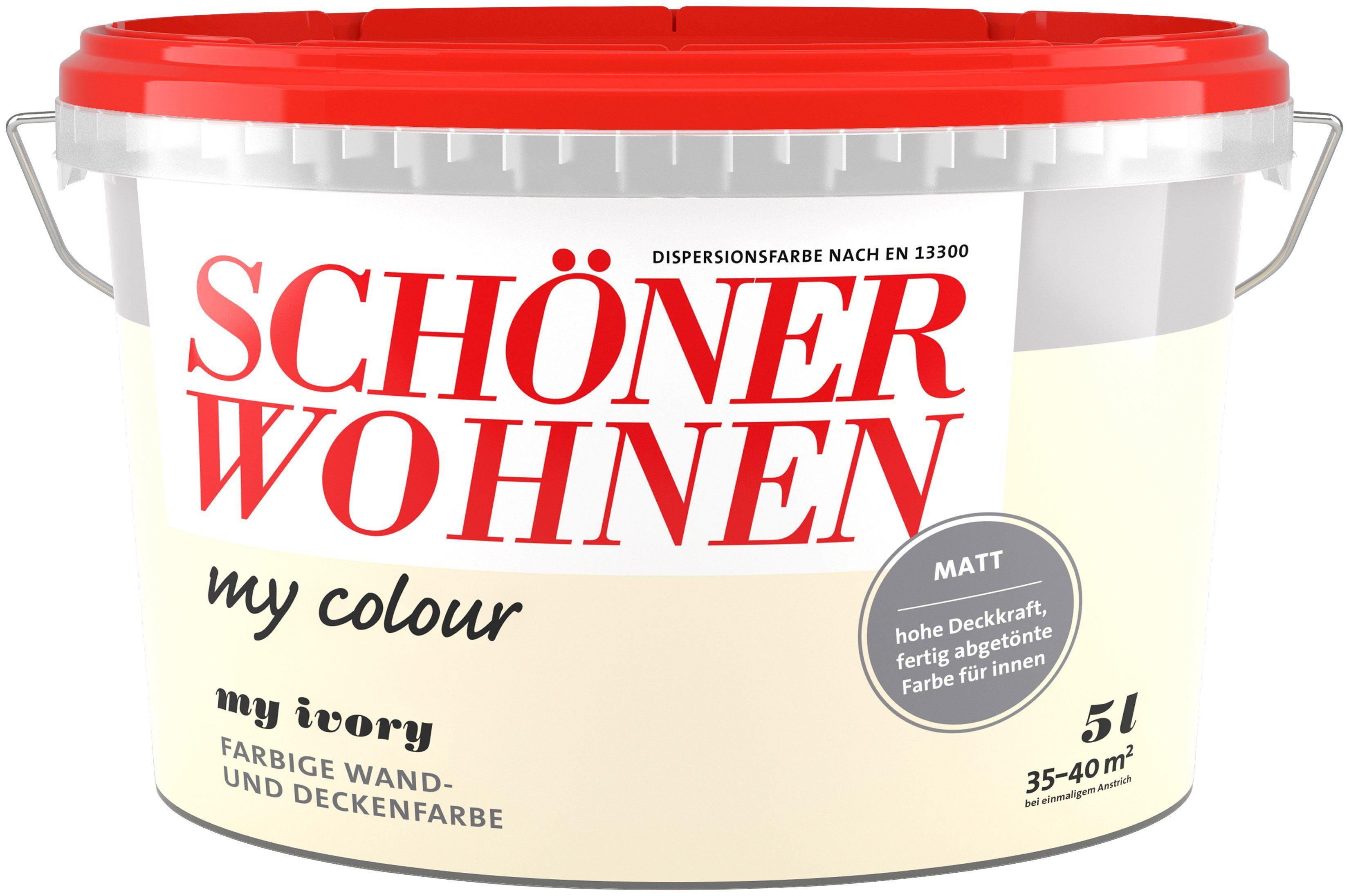 Schöner Wohnen Farbe Innenfarbe »my colour«, my ivory