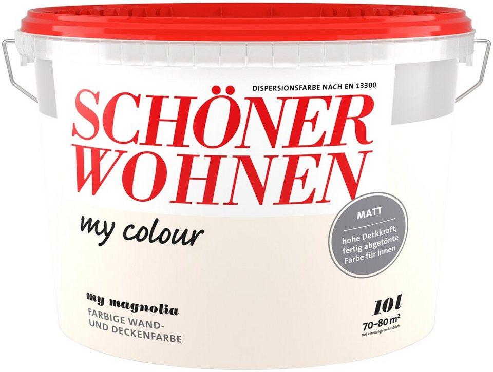 sch ner wohnen farbe innenfarbe my color 10 0l my magnolia online kaufen otto. Black Bedroom Furniture Sets. Home Design Ideas