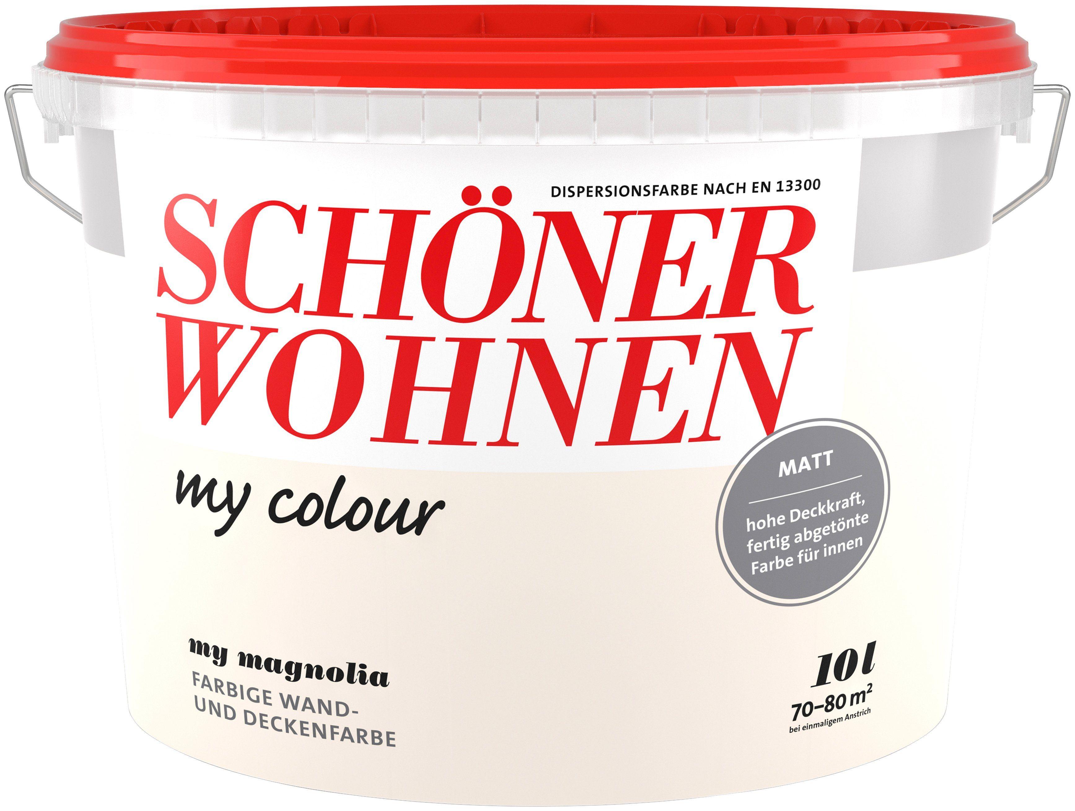 Schöner Wohnen Farbe Innenfarbe »My Color 10,0L my magnolia«