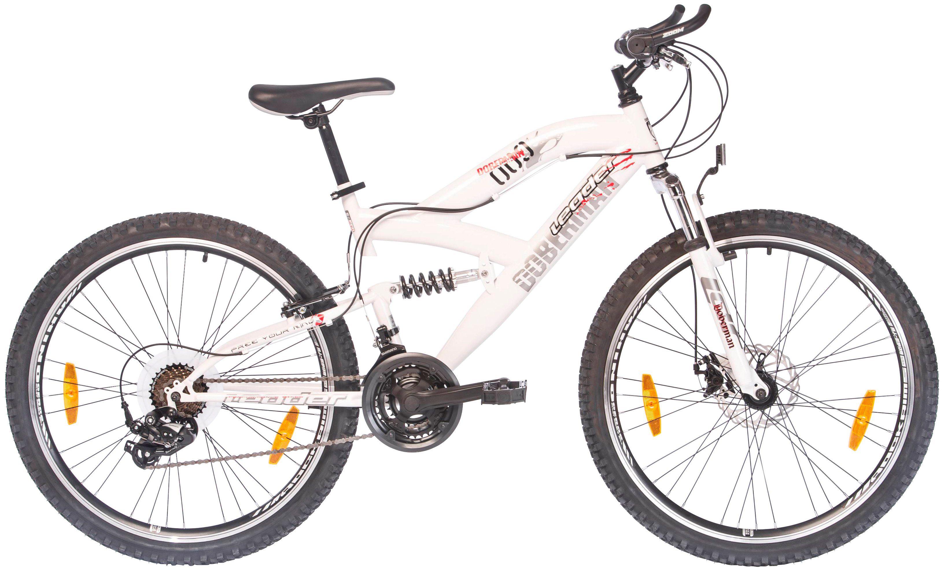 ONUX Mountainbike »Doberman«, 26 Zoll, 21 Gang, Scheibenbremse