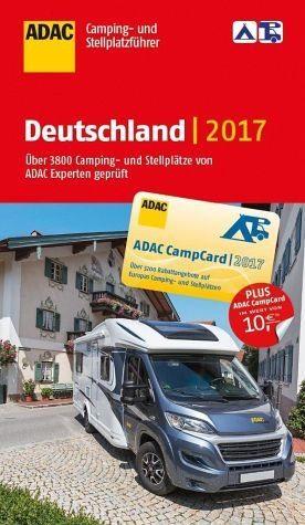 Broschiertes Buch »ADAC Camping- und Stellplatzführer Deutschland...«