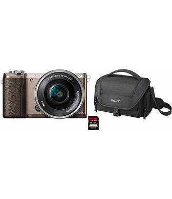 SONY »Alpha ILCE-5100L« Sisteminis fotoapar...