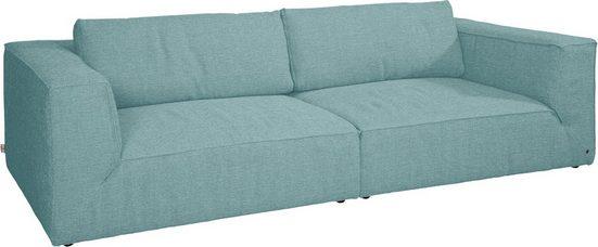TOM TAILOR Big-Sofa »BIG CUBE STYLE«, mit bequemen Stegkissen, extra große Sitztiefe, Breite 240 cm