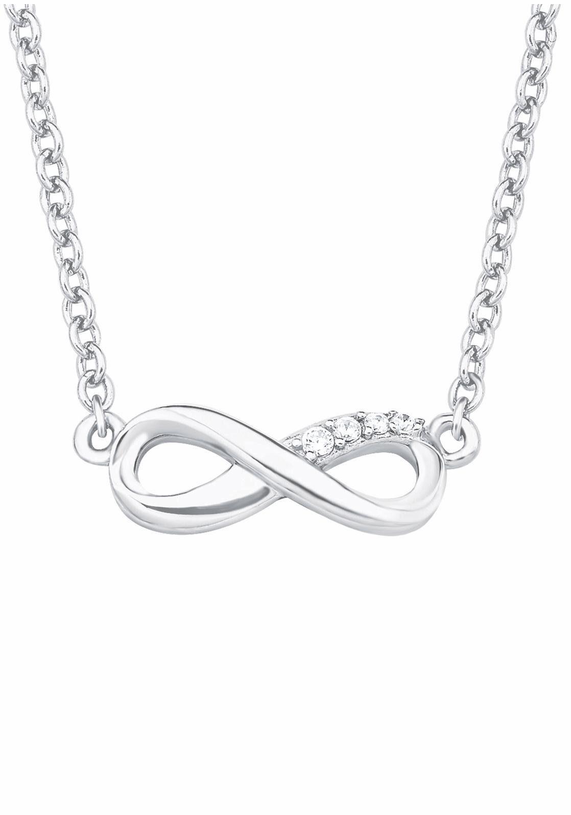 s.Oliver RED LABEL Silberkette »Infinity/Unendlichkeit, 2017245« mit Zirkonia