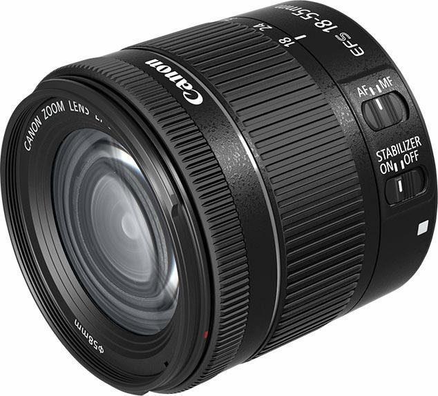 Canon EF-S 18-55mm 1:4-5,6 IS STM Zoomobjektiv