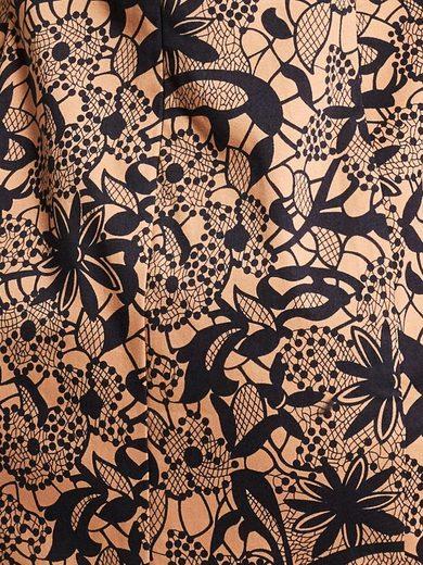 ASHLEY BROOKE by Heine Bodyform-Druckkleid mit Blumen-Dessin