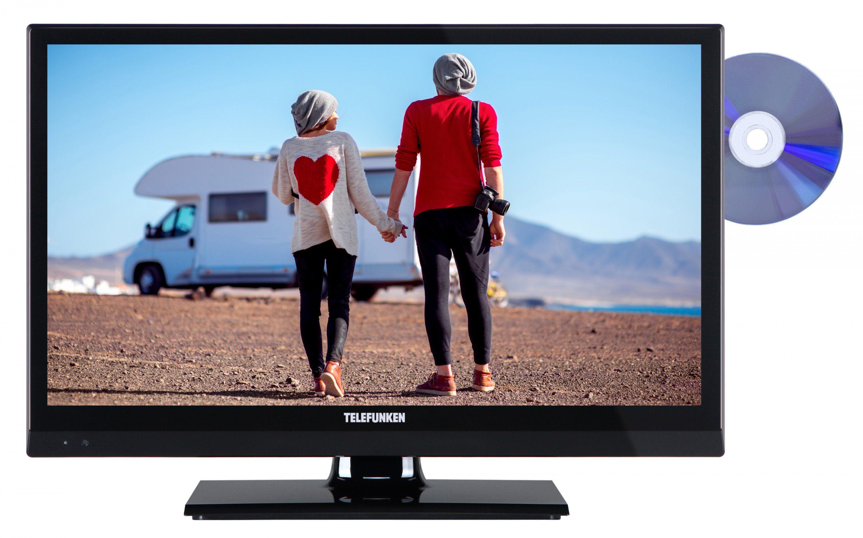 Telefunken LED-Fernseher (20 Zoll, HD-Ready, DVD-Player, DVB-T2 HD) »XH20A101VD«