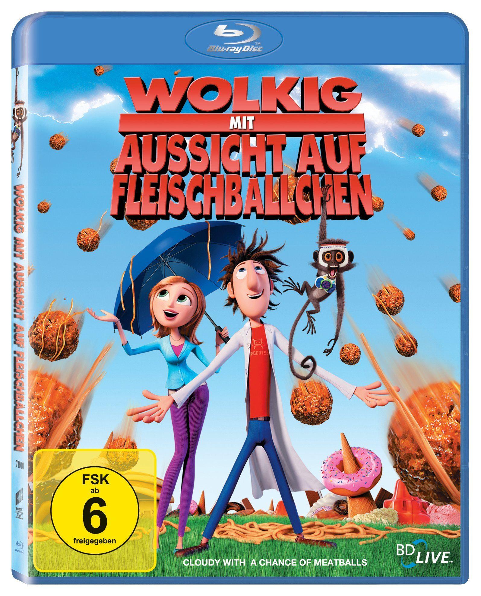 Sony Pictures Blu-Ray »Wolkig mit Aussicht auf Fleischbällchen«