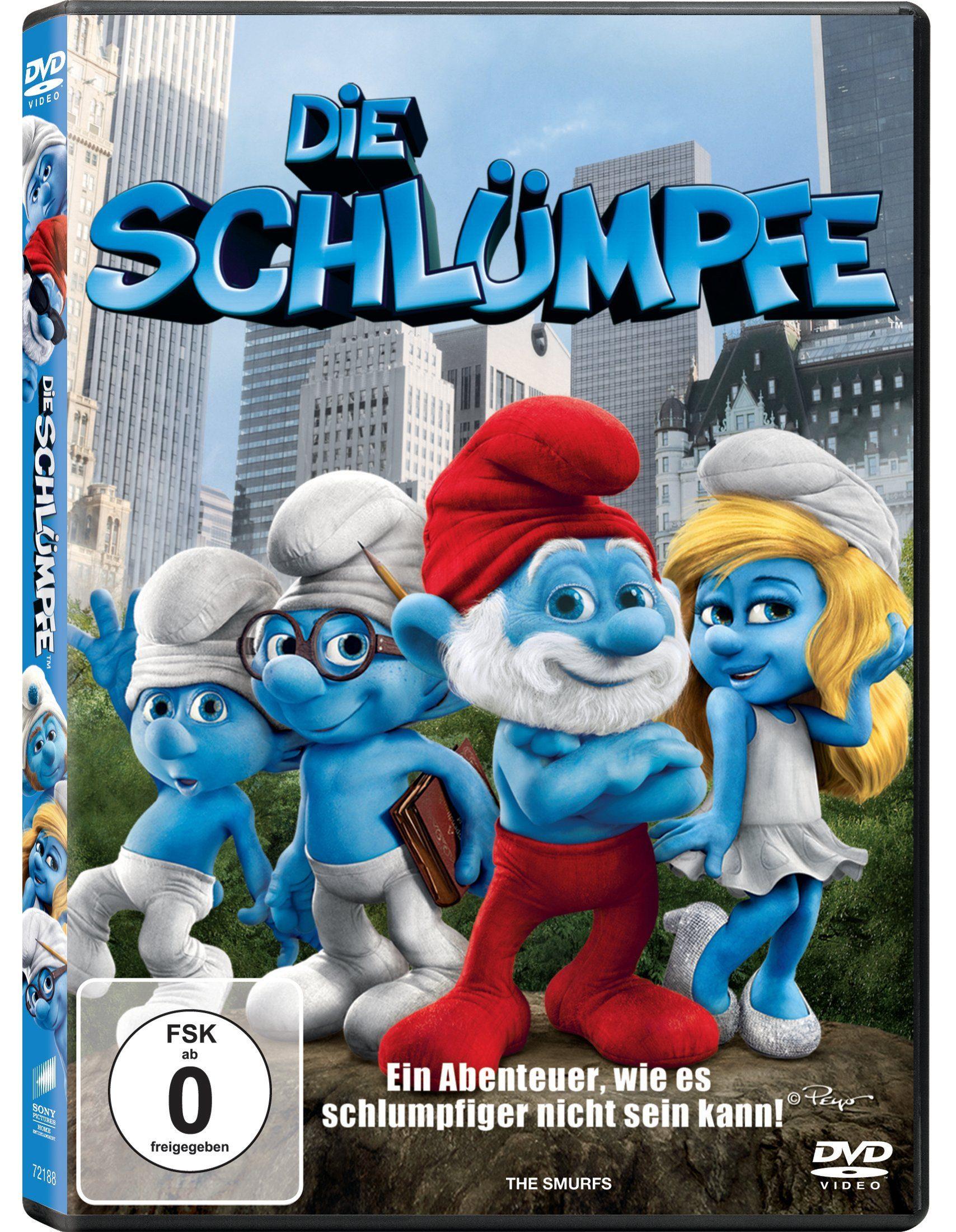 Sony Pictures DVD »Die Schlümpfe«