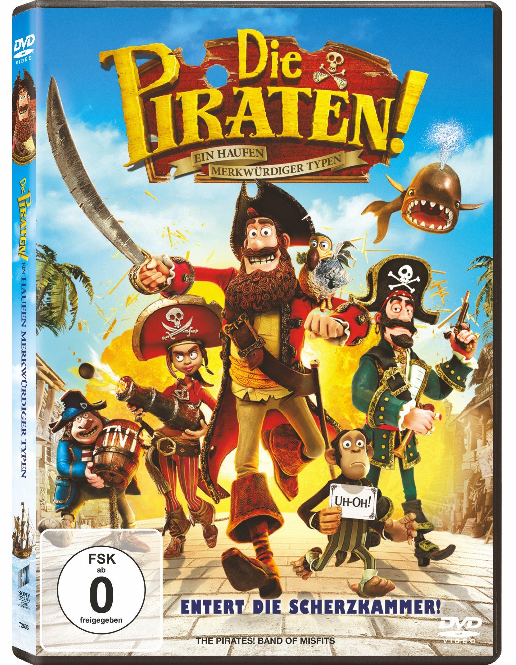 Sony Pictures DVD »Die Piraten - Ein Haufen merkwürdiger Typen«