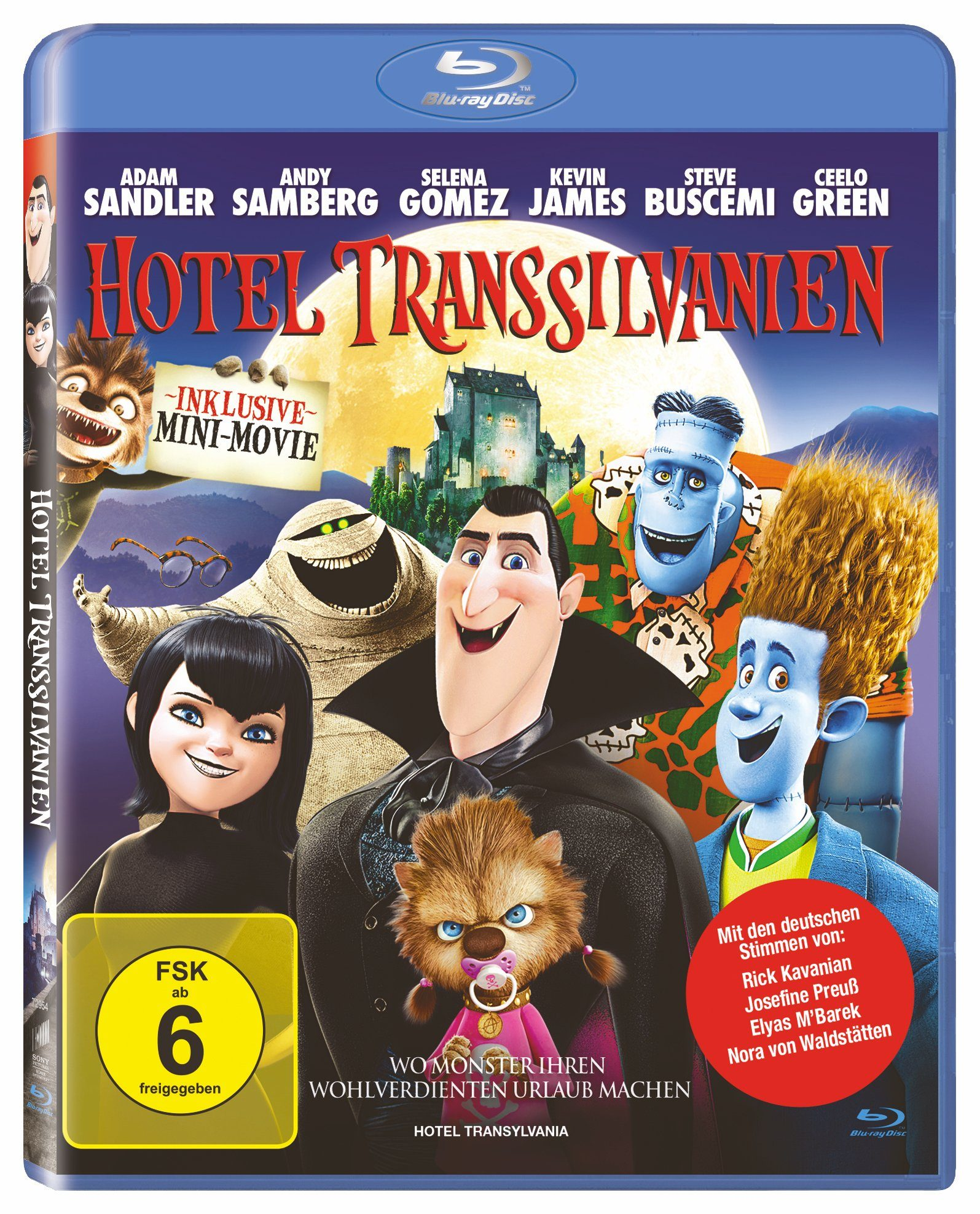 Sony Pictures Blu-Ray »Hotel Transsilvanien«