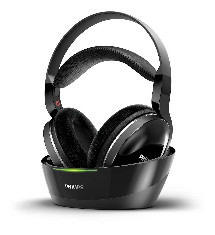 Philips Kabelloser High Resolution Over-Ear Heimkino - Kopfhörer »SHD8850/12«