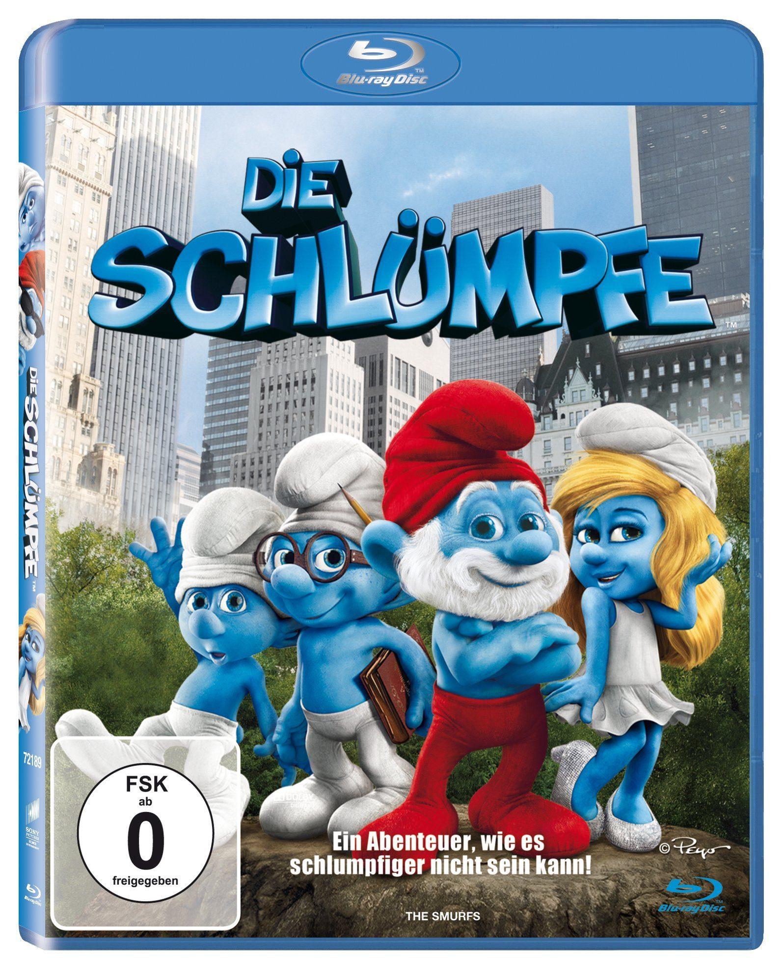 Sony Pictures Blu-Ray »Die Schlümpfe«
