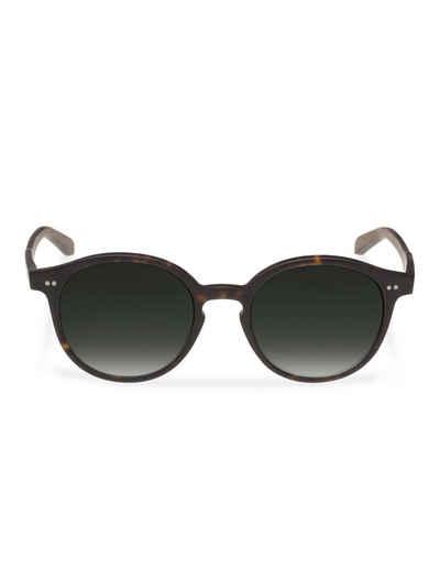 WOOD FELLAS Sonnenbrille mit UV 400 Sonnenschutz, schwarz, schwarz/grün