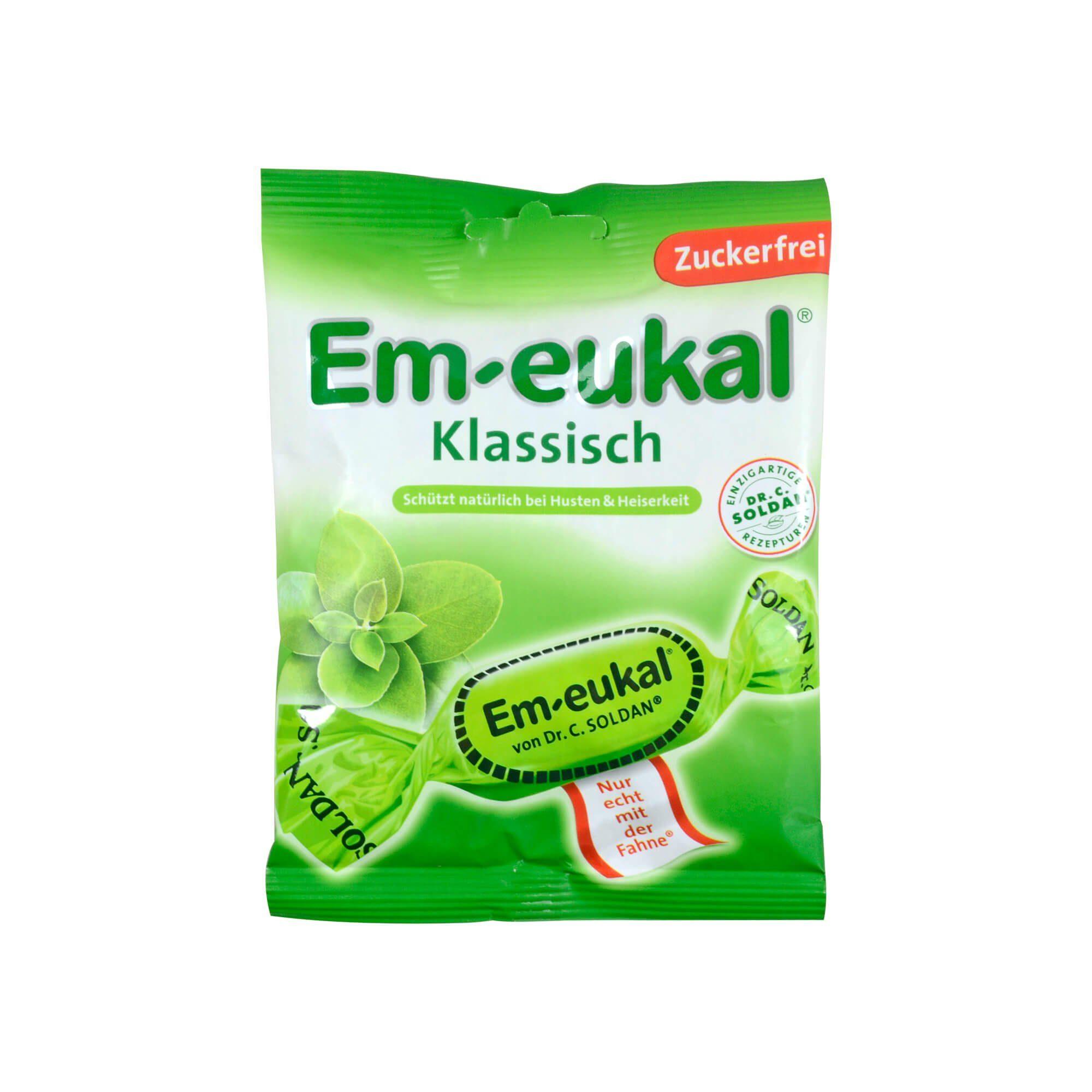 Em Eukal Klassisch zuckerfrei, 75 g