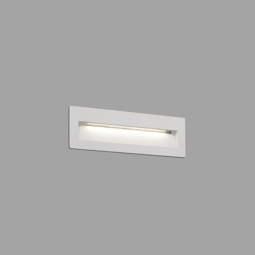 click-licht LED Einbauleuchte »LED Wandeinbauleuchte Nat 3000K in Weiß«, Einbaustrahler, Einbauleuchte