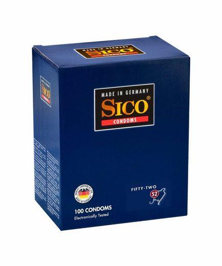 SICO Kondome »52, 100er Box«, 1 St.