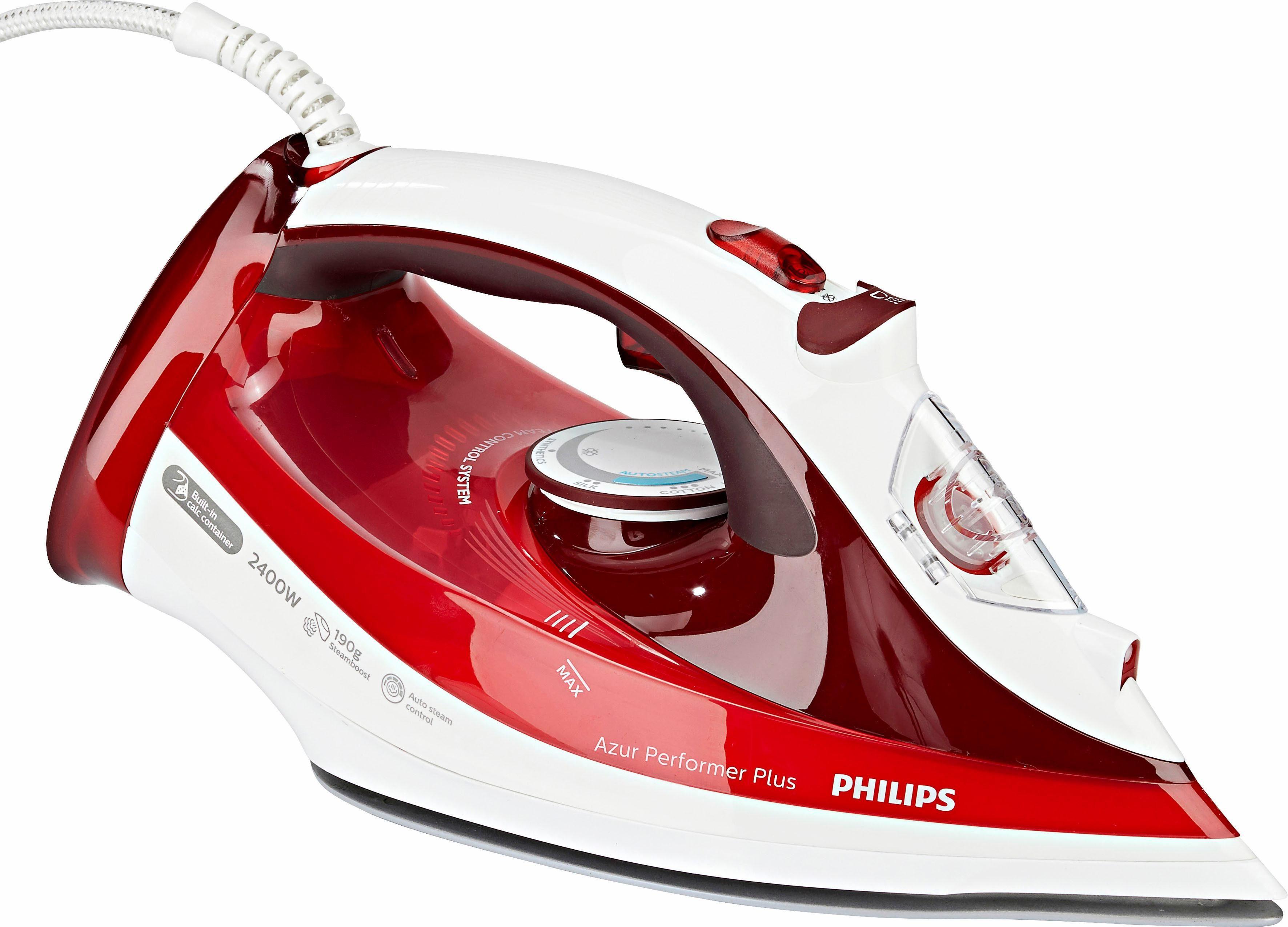 Philips Dampfbügeleisen GC4516/40 Azur Performer Plus, 2400 Watt