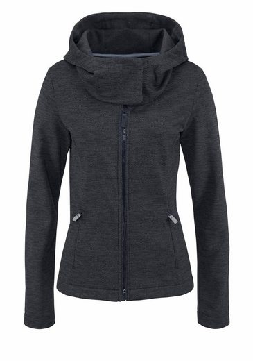 Bench Performance Strickfleecejacke KNIT HOODY