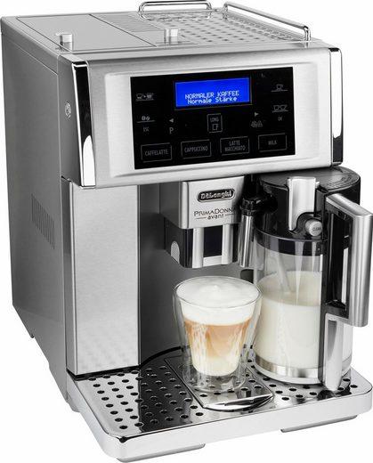 De'Longhi Kaffeevollautomat PrimaDonna Avant ESAM 6708, herausnehmbare Brühgruppe