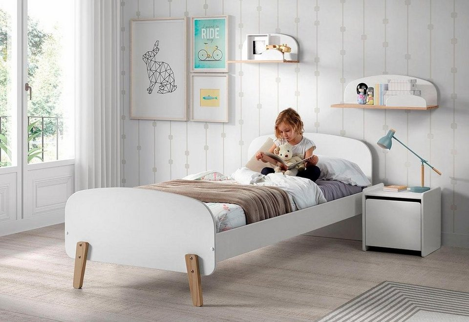 vipack kinderbett kiddy inkl rollrost mdf oberfl che online kaufen otto. Black Bedroom Furniture Sets. Home Design Ideas