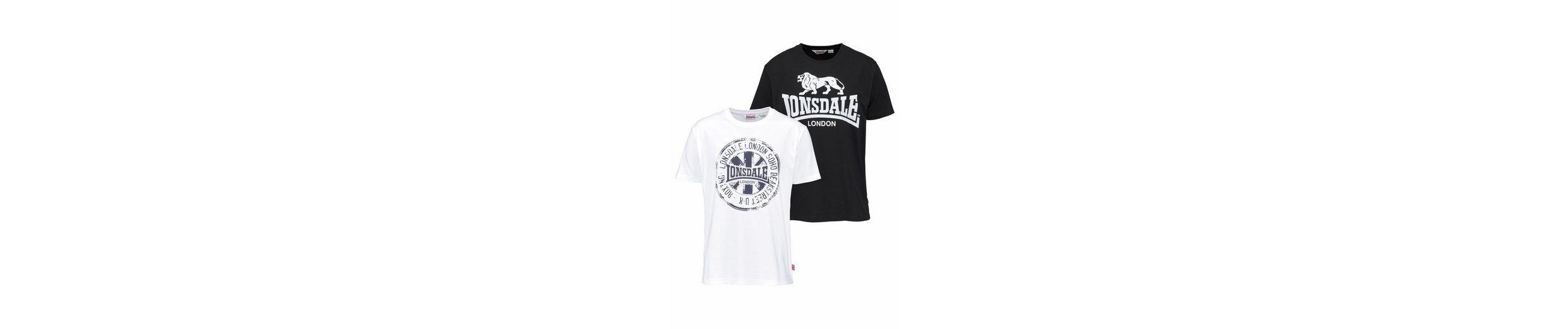 Lonsdale T-Shirt DILDAWN (Packung, 2er-Pack)