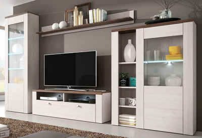 Wohnzimmerschrank Aus Eiche Online Kaufen