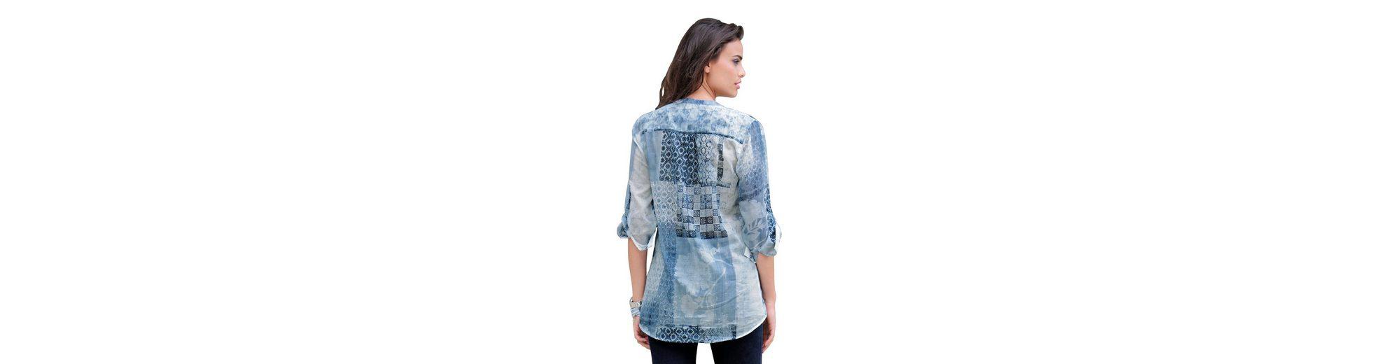 Alba Moda Bluse im Patchdessin Einkaufen Besuchen Neue Online xvbpLrjib