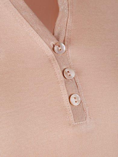 Alba Moda Shirt mit Serafino-Ausschnitt