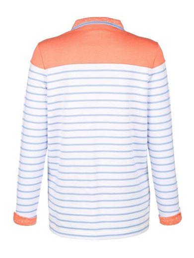 Sweat-shirt Paola À Rayures