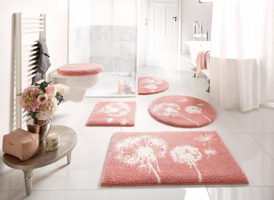 Badematte »Pusteblume« GRUND exklusiv, Höhe 20 mm, Pastell online kaufen    OTTO