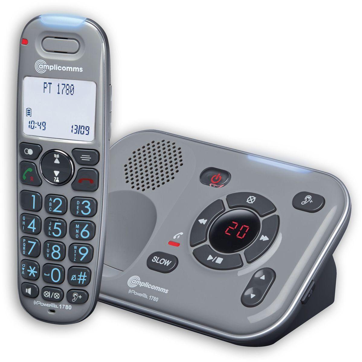 amplicomms Großtastentelefon »PowerTel 1780«