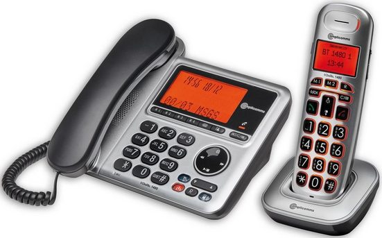 Amplicomms Großtastentelefon »BigTel 1480 Combo«