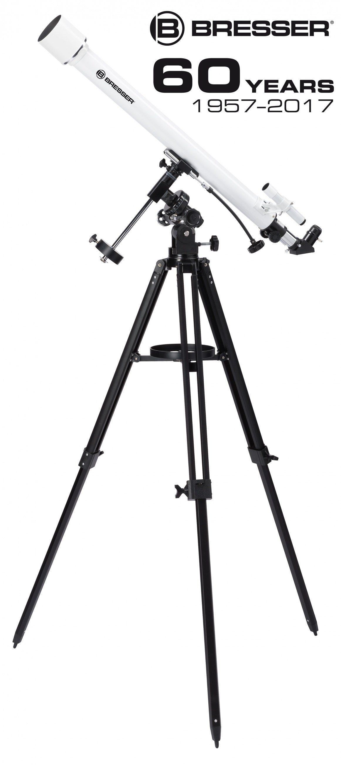 BRESSER Teleskop »BRESSER Classic 60/900 EQ Linsenteleskop«