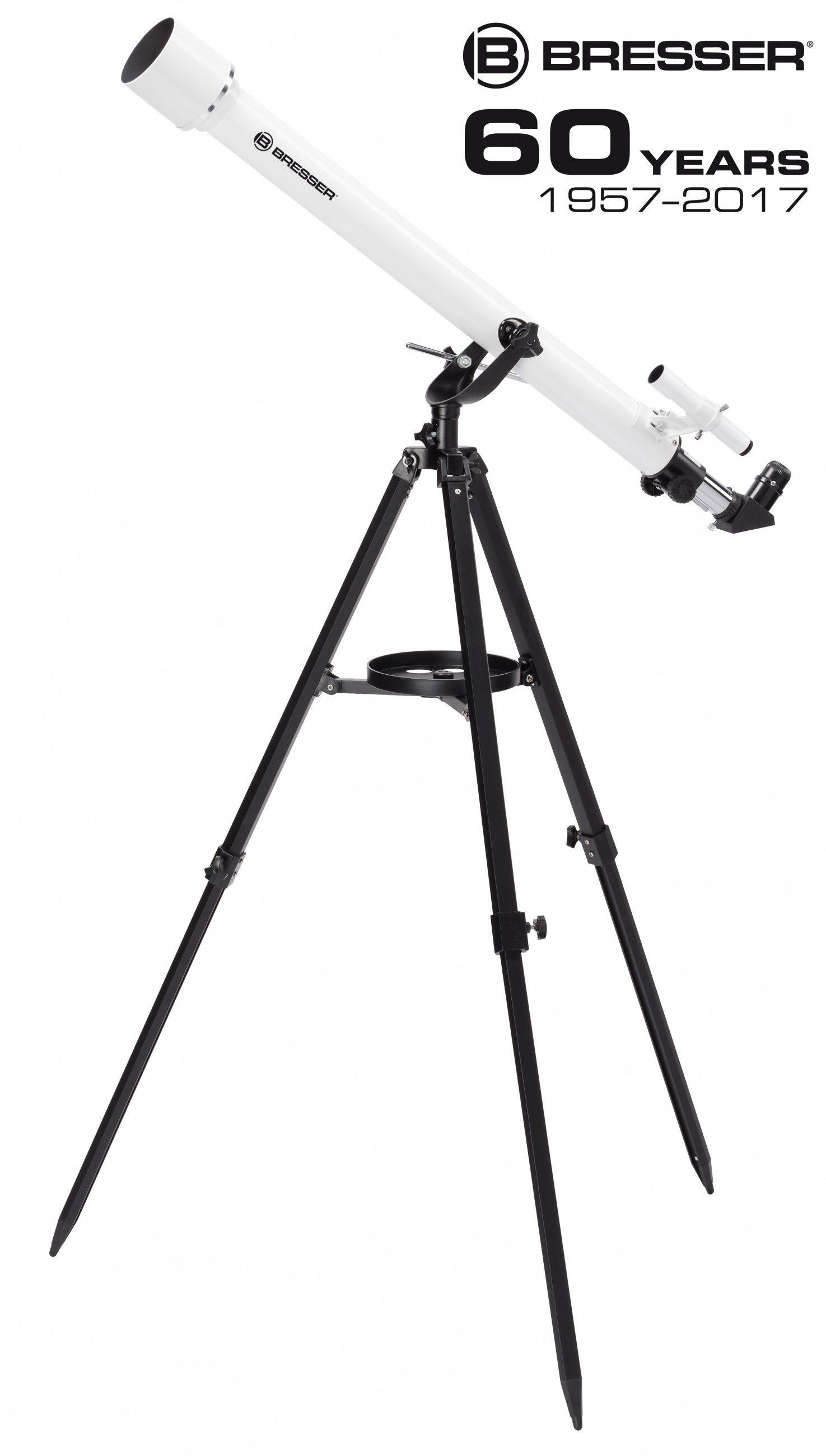 BRESSER Teleskop »BRESSER Classic 60/900 AZ Linsenteleskop«