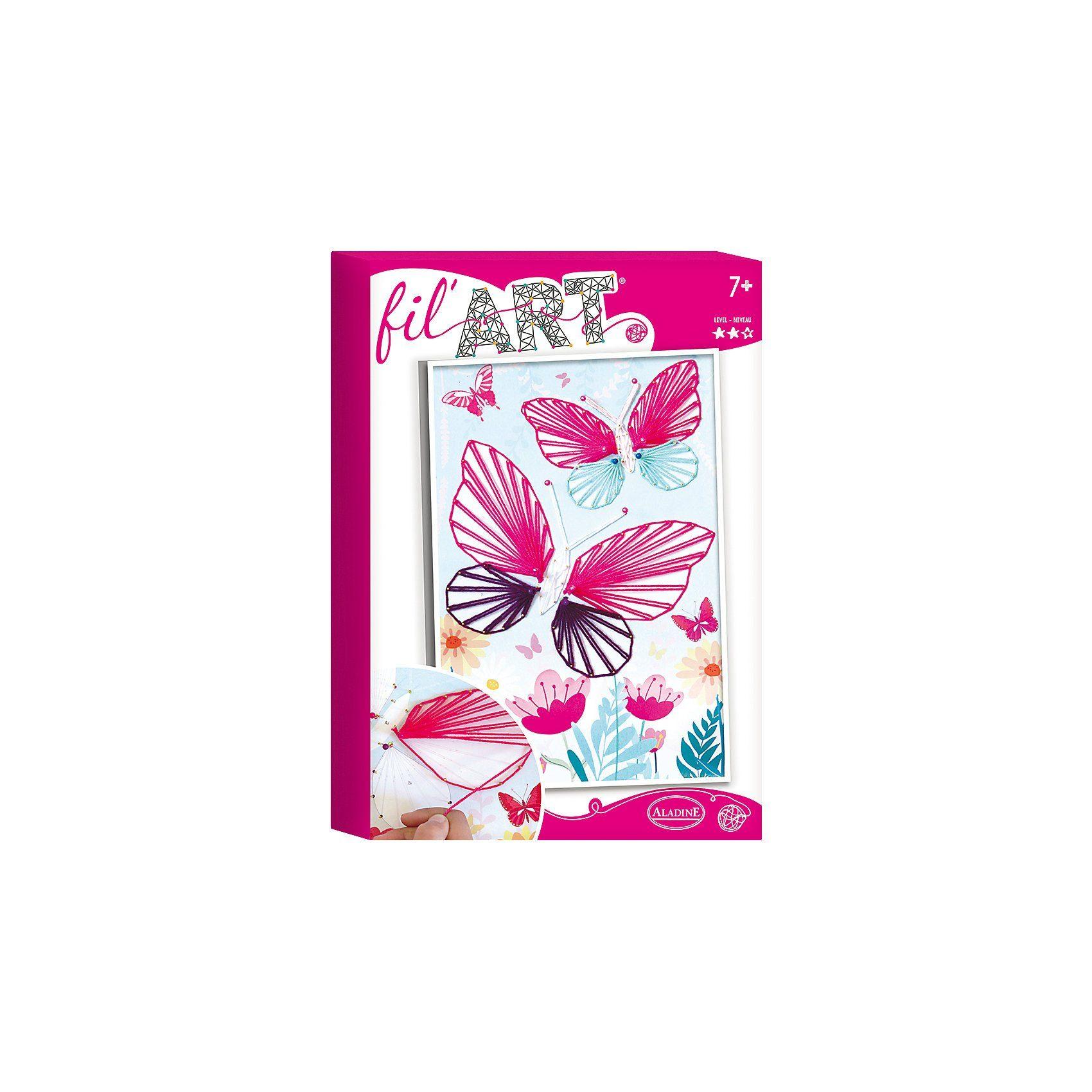 Aladine Fadenbild Schmetterling