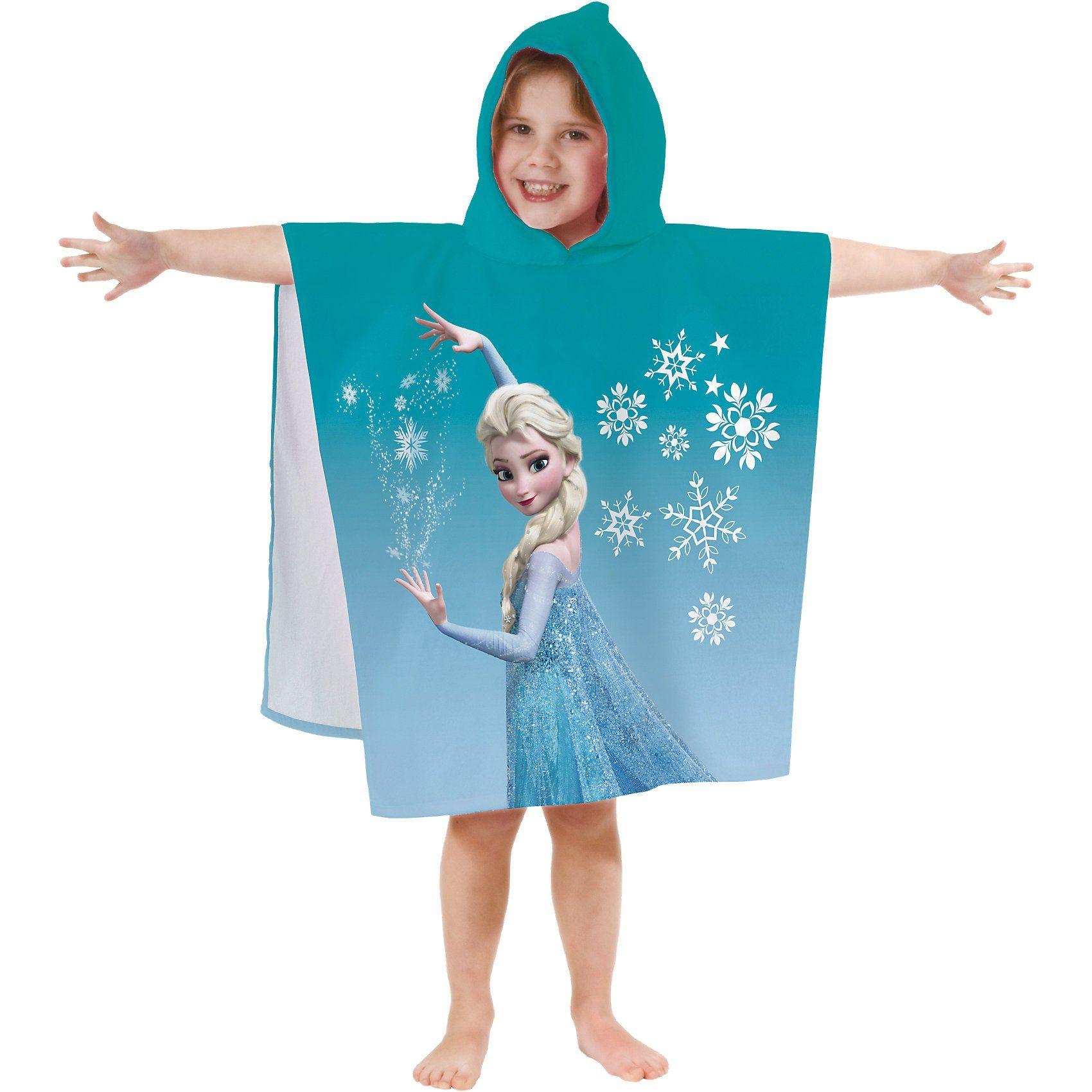 CTI Badeponcho Disney Die Eiskönigin Frozen, 60 x 60 cm