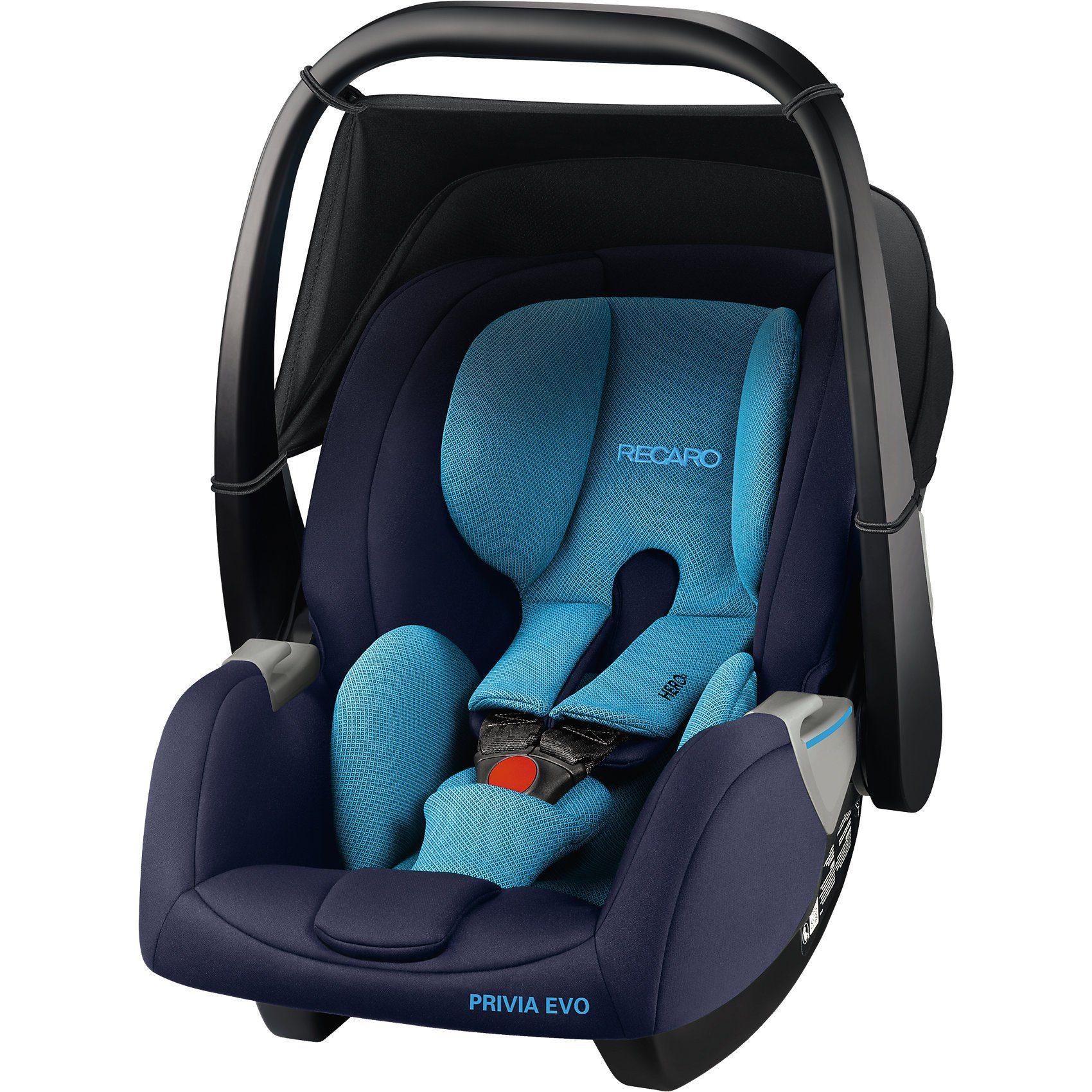 RECARO Babyschale Privia Evo, Xenon Blue