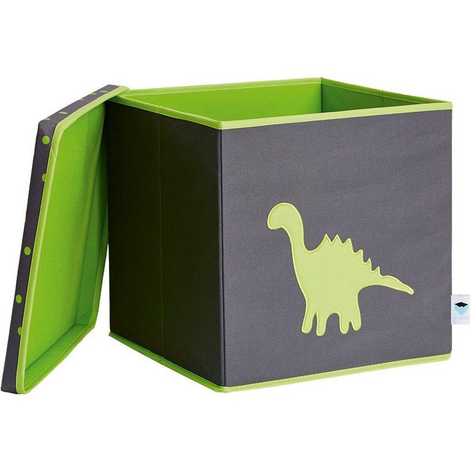 store it spielzeugkiste mit deckel mit mdf dino otto. Black Bedroom Furniture Sets. Home Design Ideas