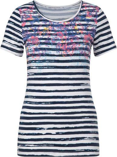 Collection L. Shirt im wunderschönen Druckdessin
