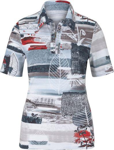 Classic Basics Shirt mit Glitzersteinchen-Verzierung
