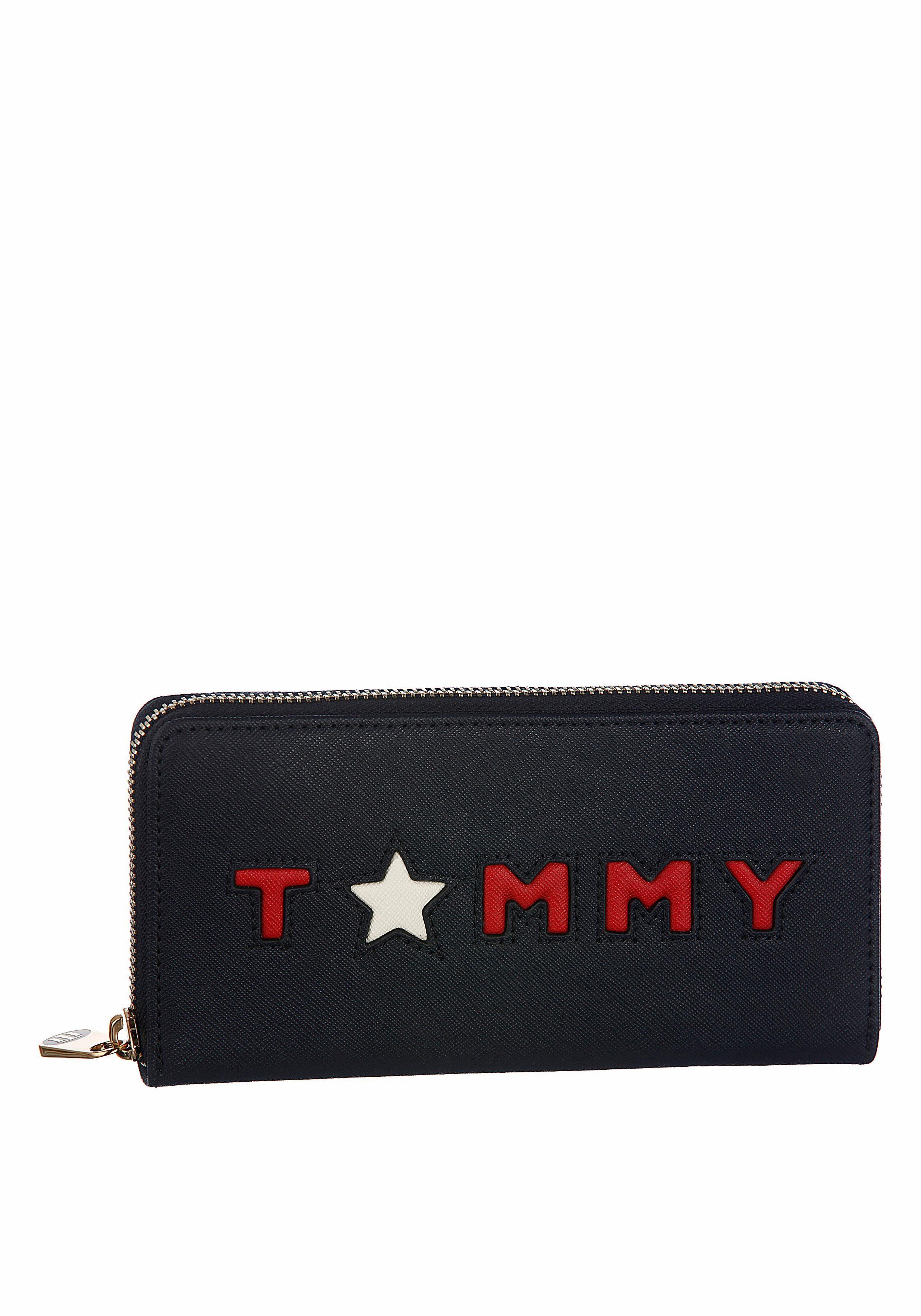 Tommy Hilfiger Geldbörse »HONEY LARGE ZA WALLET TOMMY STAR«, mit schönem Logo Schriftzug